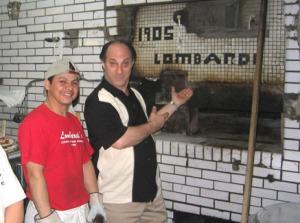 Funny Speaker at Lombardi's in NYC